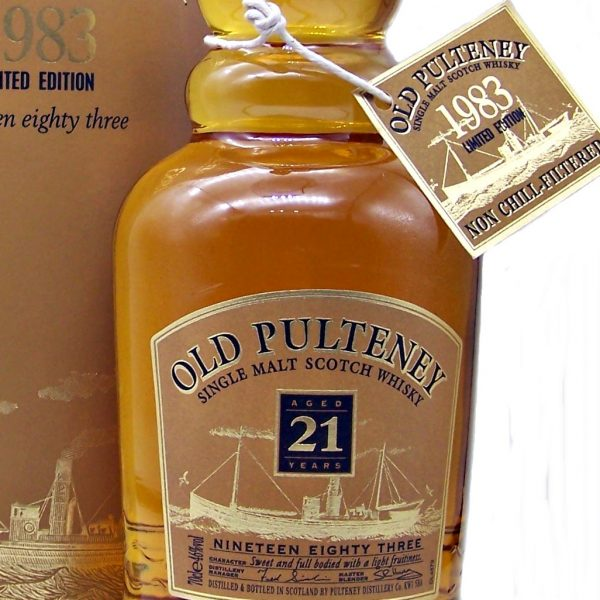 Old Pulteney 21 year old 1983 Single Malt Whisky