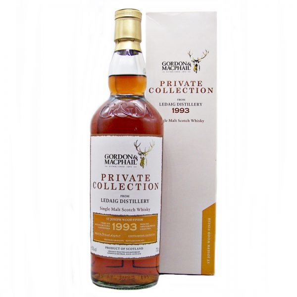 Ledaig 1993 St Joseph Wood Finish