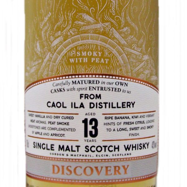 Caol Ila 13 year old Discovery Single Malt Whisky