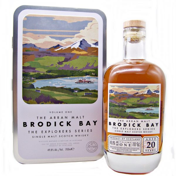 Arran Brodick Bay 20 year old Single Malt Scotch Whisky