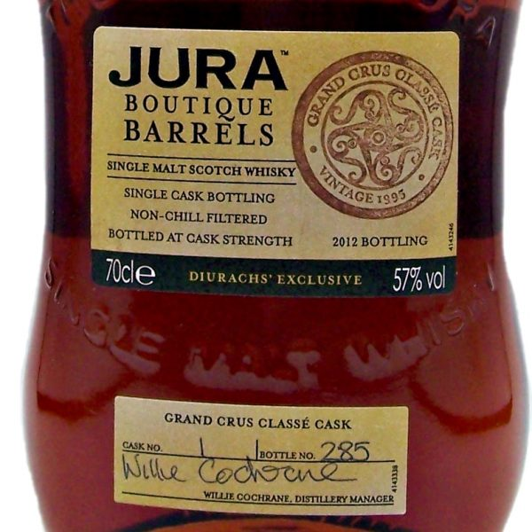 Jura 1995 Boutique Barrels Single Malt Whisky