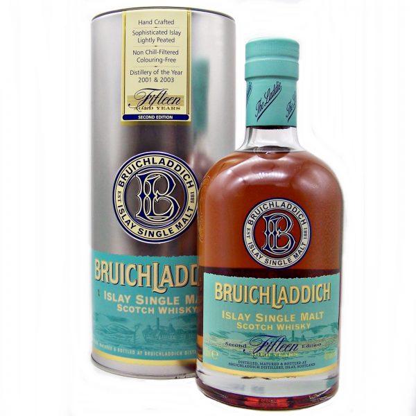 Bruichladdich 15 year old Second Edition Single Malt Whisky