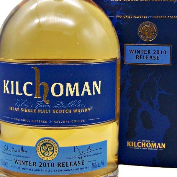 Kilchoman Winter 2010 Release Single Malt Scotch Whisky