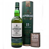 Laphroaig 15 year old 200th Anniversary Limited Edition at whiskys.co.uk