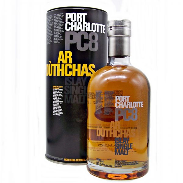 Port Charlotte PC8 Ar Duthchas Single Malt Whisky