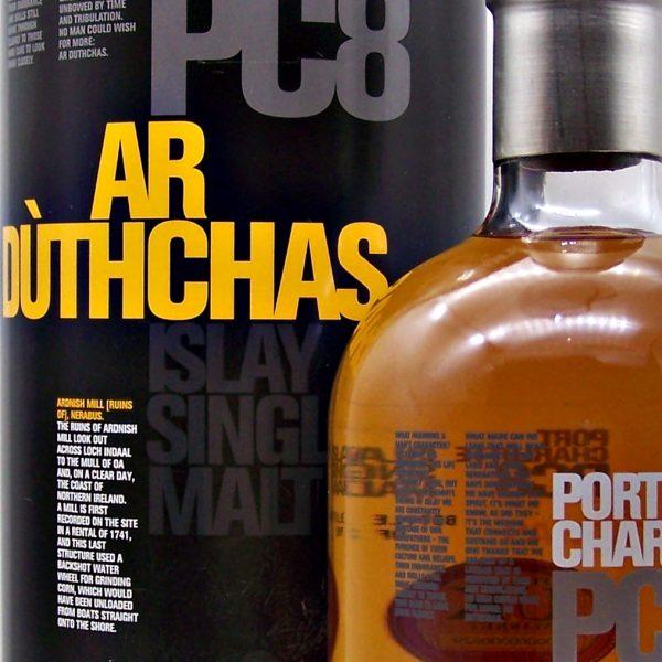 Bruichladdich PC8 Islay Single Malt Scotch Whisky
