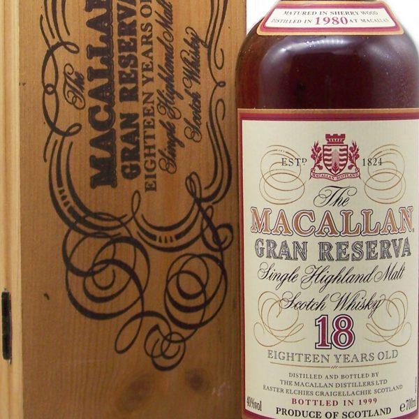 Macallan 1980 Gran Reserva