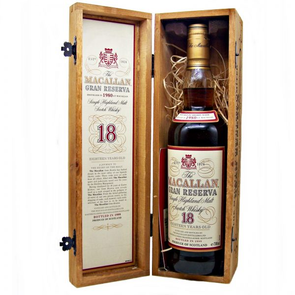 Macallan 18 year old Gran Reserva 1980 bottled 1999