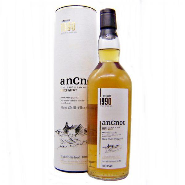 AnCnoc 1990 bottled October 2004 Limited Edition Single Malt Whisky