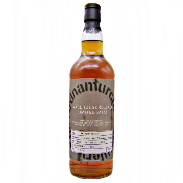 Ardnamurchan 1 year old Warehouse Release Limited Batch 7
