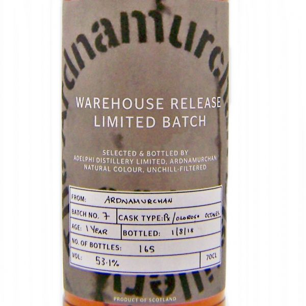 Ardnamurchan 1 year old Warehouse Release