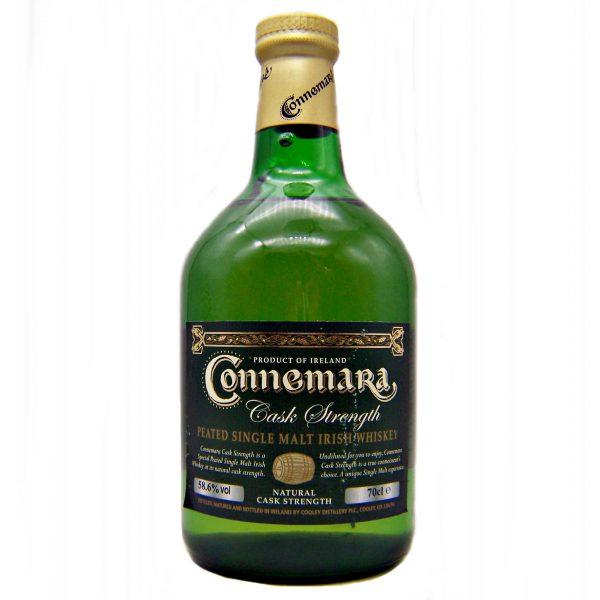 Connemara Cask Strength Irish Single Malt Whiskey