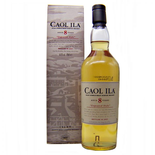 Caol Ila 8 year old Unpeated Style