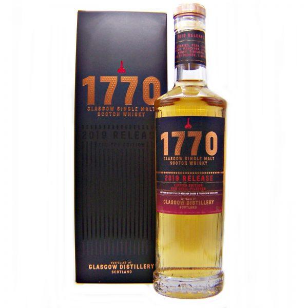 1770 Glasgow Distillery 2019 Release