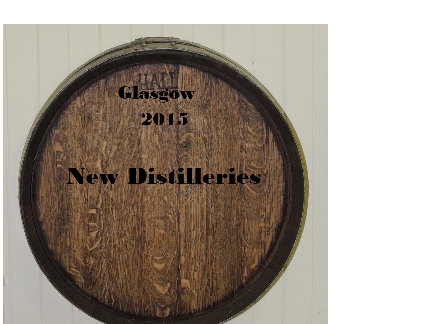 New Distilleries
