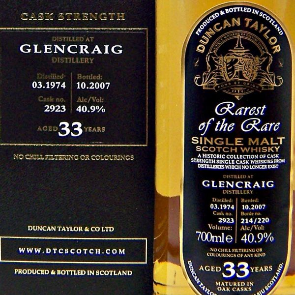 DuncanTaylor Rarest of the Rare Glencraig