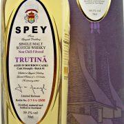 Spey Trutina Cask Strength Batch#1