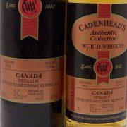 Cadenhead's Potter Distilling Company Indian Corn Canadian Whisky