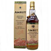 Amrut Cask Strength Peated Indian Single Malt Whisky Batch No.01 at whiskys.co.uk