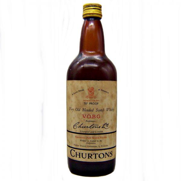 Churtons V.O.B.G. Very Old Blended Scotch Whisky