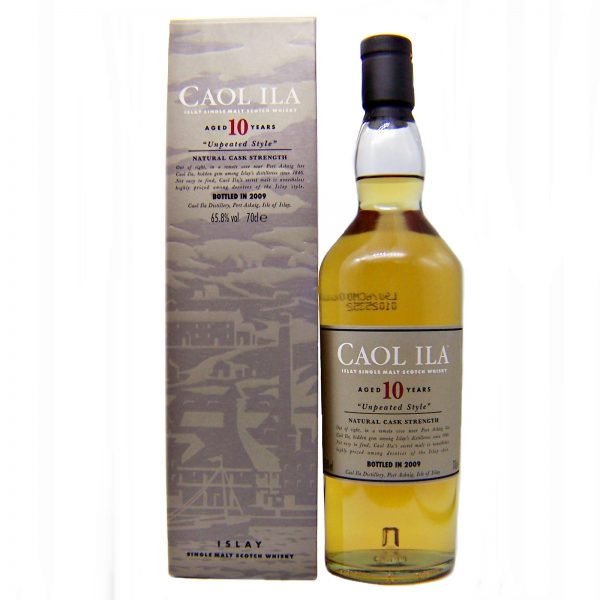 Caol Ila 10 year old Unpeated bottled in 2009