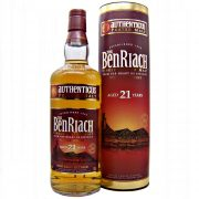 Benriach 21 year old Authenticus Peated Malt from whiskys.co.uk