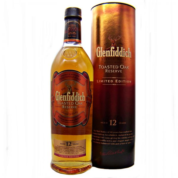 Glenfiddich Toasted Oak 12 year old Limited Edition