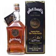 Jack Daniel's 1981 Gold Medal Signed by Jimmy Bedford at whiskys.co.uk