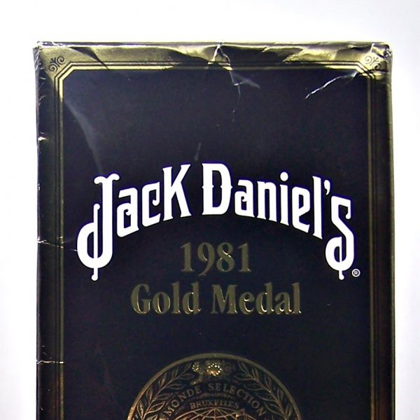 Jack Daniel's Tennessee Gold Medal 1981 Whiskey