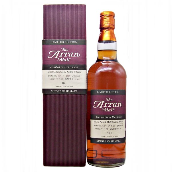 Arran Finished in a Port Cask