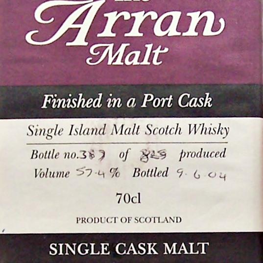 Arran Single Malt Whisky Limited Edition