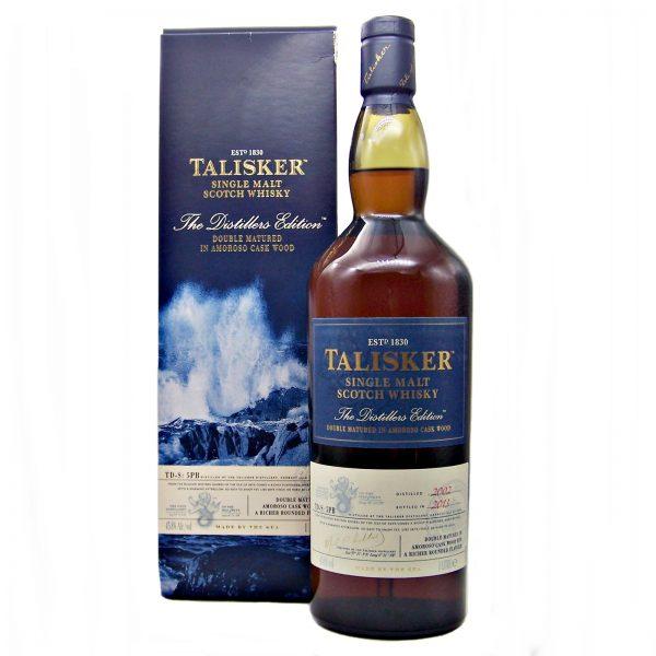 Talisker Distillers Edition Amoroso Finish 2002 Litre Bottle