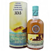 Bruichladdich Heavily Peated 3D3 Norrie Campbell Tribute Bottling at whiskys.co.uk