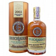 Bruichladdich 2003 Super Heavily Peated Single Malt Whisky at whiskys.co.uk