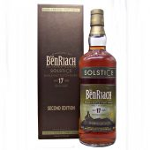 Benriach Solstice 17 year old Second Edition at whiskys.co.uk