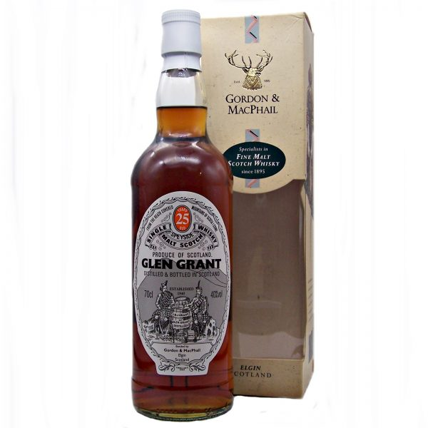 Glen Grant 25 year old Single Malt Whisky