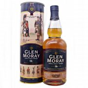 Glen Moray 16 year old Highland Regiments Single Malt Whisky at whiskys.co.uk