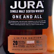 Jura One and All 20 year old Single Malt Whisky