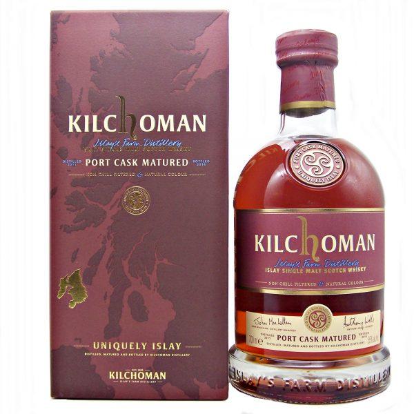 Kilchoman Port Cask Matured First Edition