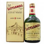 Littlemill 8 year old Single Malt Whisky at whiskys.co.uk