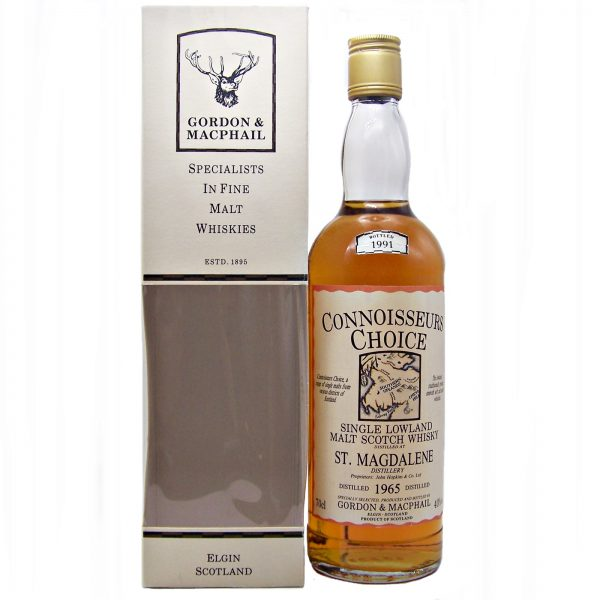 St Magdalene 1965 Connoisseurs Choice Single Malt Whisky