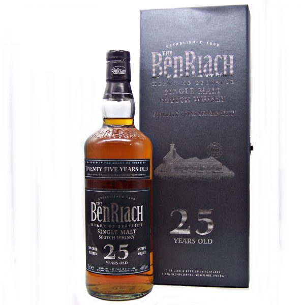 BenRiach 25 year old Speyside Single Malt Whisky