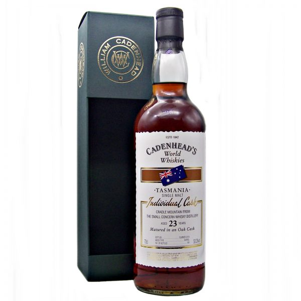 Cradle Mountain 23 year old Tasmanian Whisky