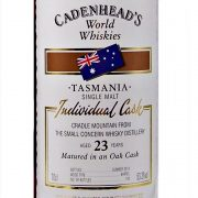 Cradle Mountain 23 year old Australian Whisky