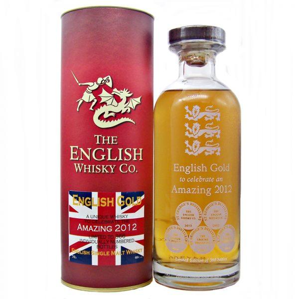 English Gold to celebrate an Amazing 2012