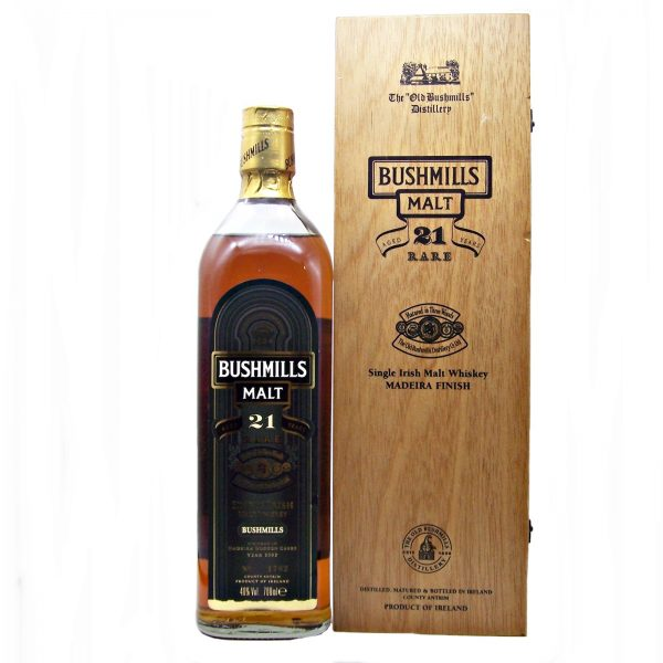 Bushmills 21 year old Madeira Finish 2002 Release
