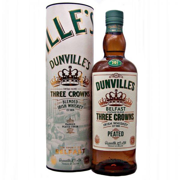 Dunville's Three Crowns Peated Irish Whiskey