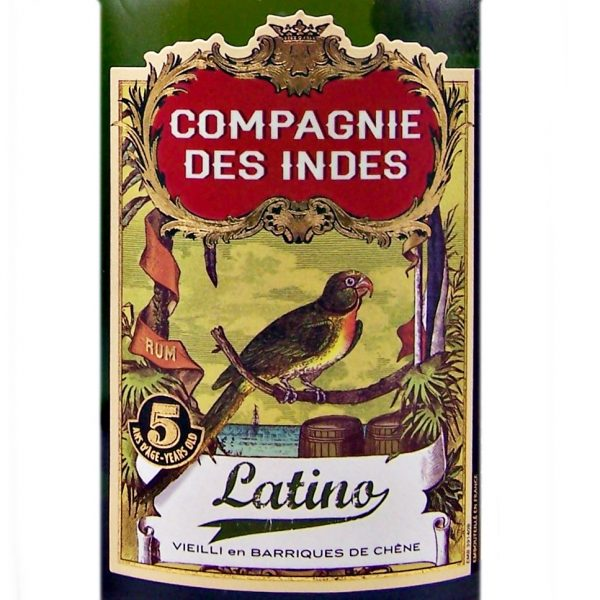 Campagnie des Indes Latino Golden Rum