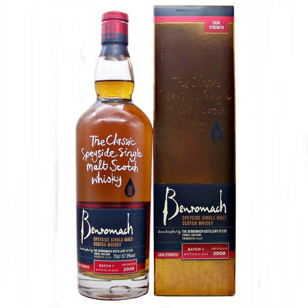 Benromach Cask Strength Batch 1 Single Malt Whisky