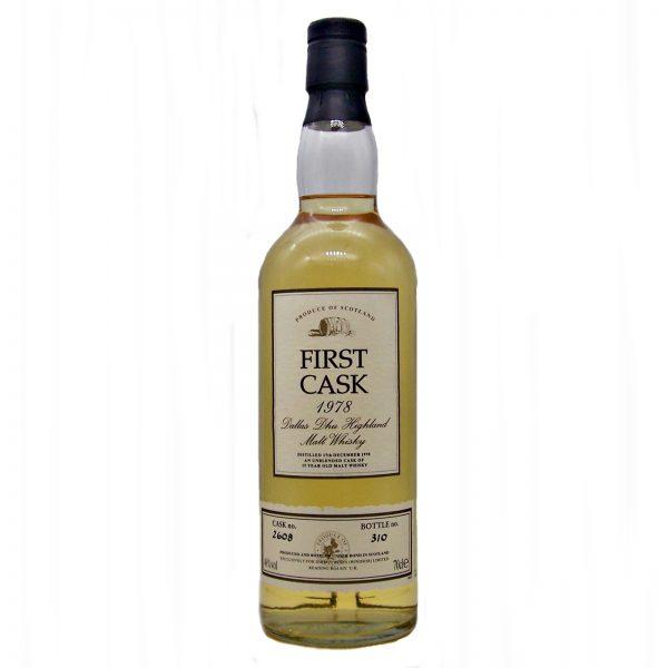 Dallas Dhu 1978 First Cask Single Malt Whisky